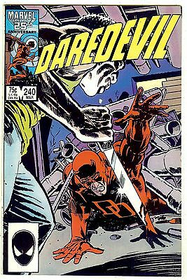 Daredevil #240 (1987, vf+ 8.5) by Ann Nocenti, John Romita Jr & Al Williamson