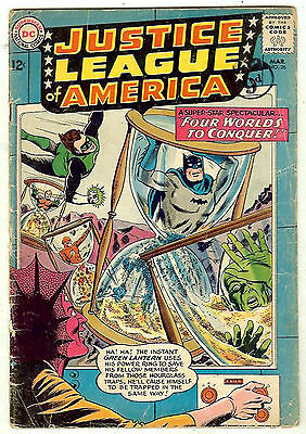 Justice League of America #26 (1964 vg 4.0) guide value: $32.00 (£21.00)
