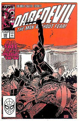 Daredevil #252 (double-sized 1988, vf+ 8.5) by John Romita Jr and Al Williamson