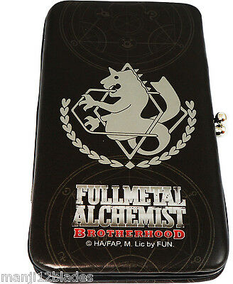 Fullmetal Alchemist Brotherhood State Military Hinge Kisslock Wallet GEAnimation