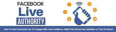 How To Use Facebook LIVE To Attract More Customers- eBook and Videos on 1 CD