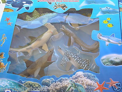 Brand New Sharks - Kids Toys Action Figuers Deep Sea World - Hammer Head + More