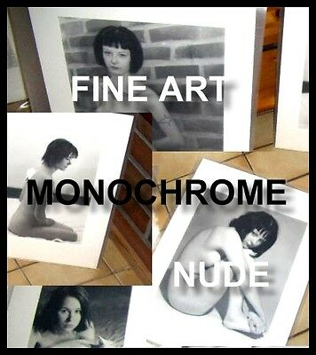 Fine art nude monochrome photography work – selection and personalization