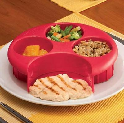 Meal Measure Perfect Portion Weight Control Plate Diet, Weightloss, Slimming