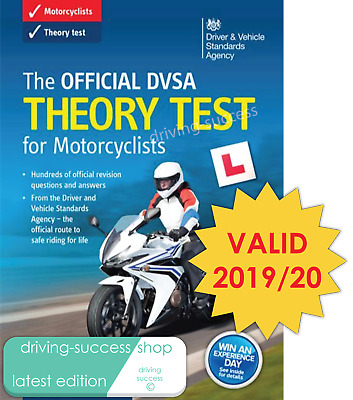 The Official DVSA Theory Test Book for Motorcycles 2019 Tests
