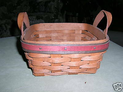 Longaberger 1991 Father's Day Spare Change Basket