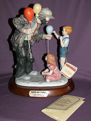 Emmett Kelly Making New Friends #9835 in Box