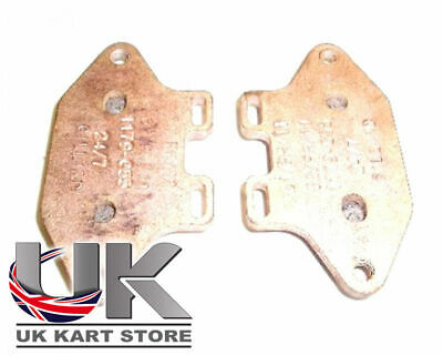 Gold Gillard Brake Pad Set Type 2 / 3 UK KART STORE