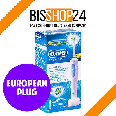 NEW Oral-B Vitality 3D White Electric Toothbrush D12.513 BRAUN