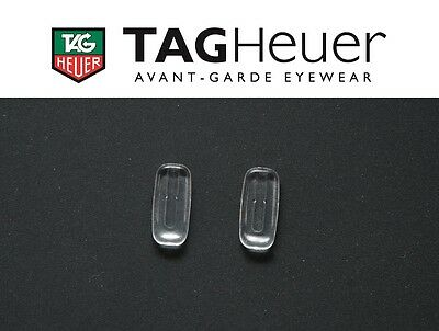 Tag Heuer Nose Pads Replacement Eyeglasses Sunglasses Soft Silicone Plug In New