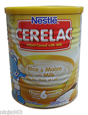 Nestle Cerelac Rice And Maize With Milk(400g) From 6 Months