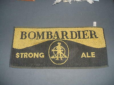 """Bombardier Strong Ale Bar Towel 17"""" x 8"""""""