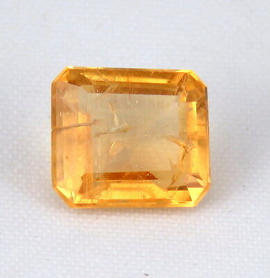 TOP RARE IMPERIAL TOPAZ : 4,28 Ct Unbehandelt Orange Imperial Topas Brasilien