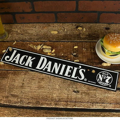 Jack Daniels Old No. 7 Bar Mat - Drip - Game Room - Bar - Tennessee Whiskey