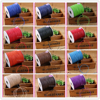 multicolor Roll Waxed Cotton Cords Wax String Cording for Beads Jewelry gift