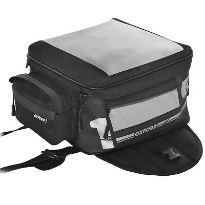 Oxford F1 Motorcycle Luggage - Magnetic Tank Bag - Small 18L (OL441)