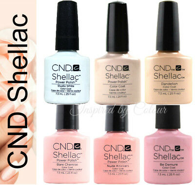 CND Shellac Power Polish Gel ● Colours for FRENCH MANICURE