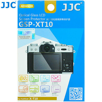 JJC GSP-XT10 Ultra-thin Tempered Optical Glass LCD Protector for Fujifilm X-T10