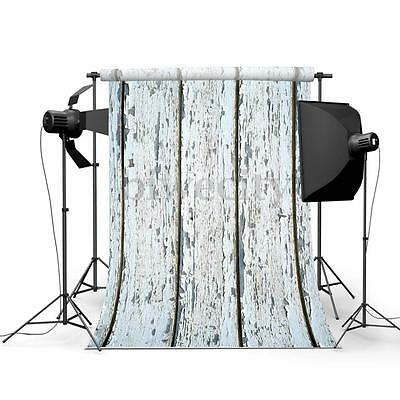 5X3FT Retro Wood Floor Wall Photography Background Cloth Backdrop For Studio