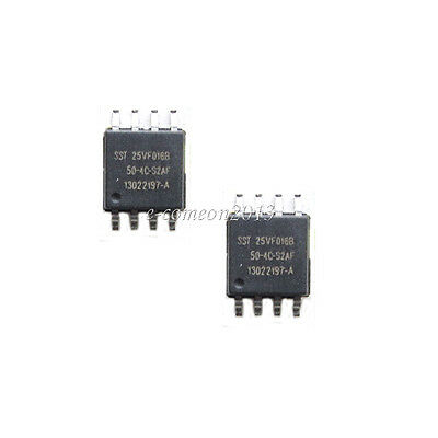 2PCS SST25VF016B-50-4C-S2AF FLASH memory 16MB 50MHZ SOP-8 IC
