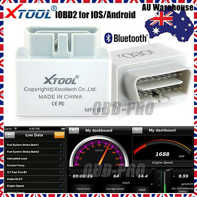 NEW Xtool iOBD2 Bluetooth EOBD Scan Tool for Android&iPhone iPad IOS Code Reader