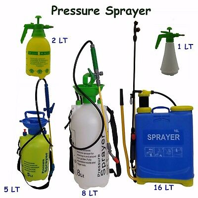 8L 5L Pressure Sprayer Garden knapsack Chemical Weedkiller Water Spray Bottle