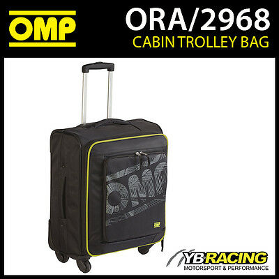 ORA/2968 OMP Racing Travel Aeroplane Cabin Trolley Hand Luggage Bag Suitcase