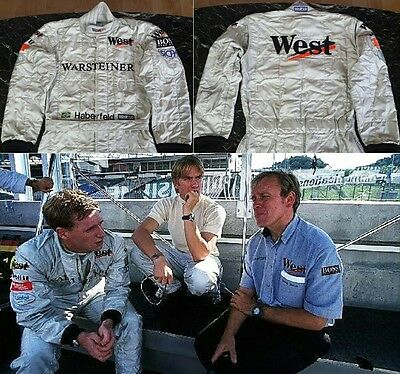 Original race used suit 1999 Mario Haberfeld F3000 West Competition
