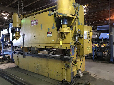 300 Ton x 14' Chicago Hydraulic Press Brake Metal Plate Bending Machine