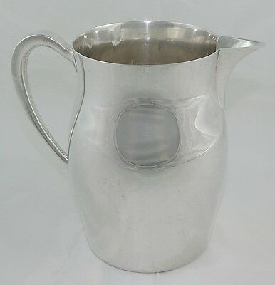 Gorgeous Vintage Sterling Silver Water Pitcher Jug by Poole #360 Paul Revere