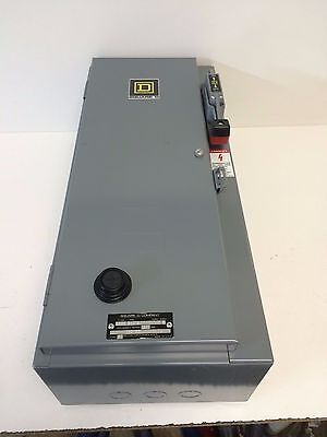 New Old Stock Square D 30A Hd Combination Starter 8538-Sbg13 Ser.c Size:0