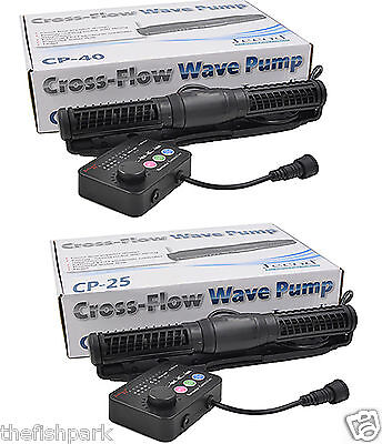 Jecod Jebao Cross Flow Cp-25/cp-40 Wave Maker Pump For Aquarium Fish Reef