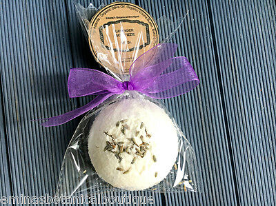 LAVENDER Flowers Bath Bomb/Aromatherapy Gift for Her,Mothers Day ,Vegan Skincare