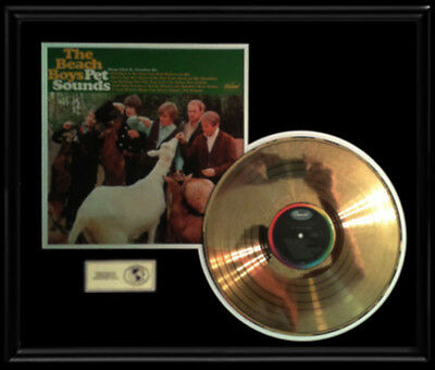 Beach Boys Pet Sounds Rare Gold Record Disc Lp Album Original 1966
