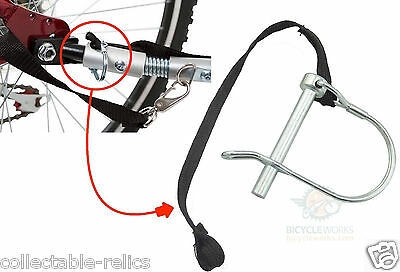 Hitch Safety Pin Wee Hoo Pacific Trailer Bicycle Stroller Cargo Pet Tow iGo 536