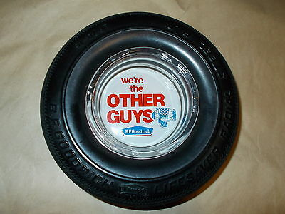 """Bf Goodrich"""" Were The Outer Guys"""" Radial Tire Ashtray No Chips Or Cracks"""