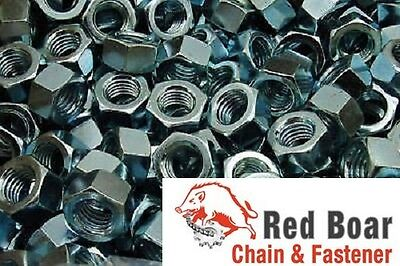 3/8-16 Finished Hex Nuts  Zinc Plated 200 pcs 3/8""