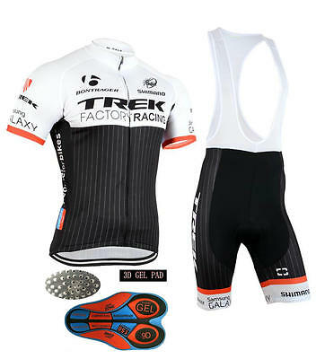 Mens Team Racing Bicycle Cycling Short Sleeve Jersey and bib Shorts outfits