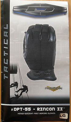 Damascus Tactical Hand Armor Fast Roping Gloves - Black