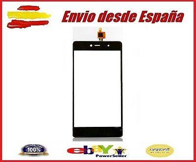 Pantalla Tactil para Wiko Fever 4G Negra Digitalizador negro Screen Ecran Touch