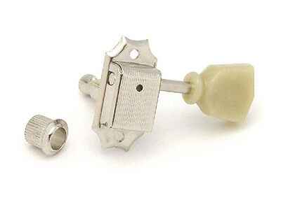 Gotoh SD90 3x3 Vintage Guitar Tuners • 8.8mm Bushing • Keystone • Nickel 3+3