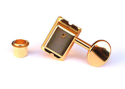 Gotoh 6-In-Line Vintage Locking Guitar Tuners • Gold SD91-05M-L6G MG