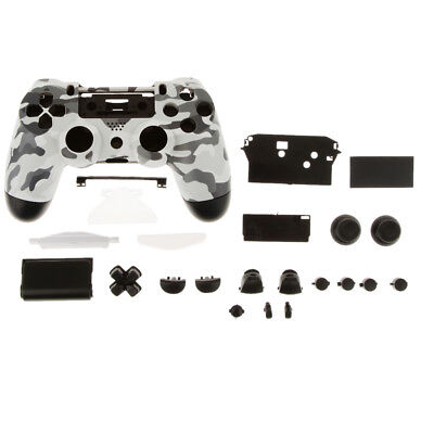 For DualShock 4 PlayStation PS4 Controller Housing Shell Case Camouflage