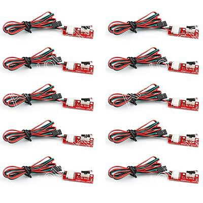 10x Mecánica End Stop Endstop Limit Switch+Cable Para 3D Impresora CNC RAMPS 1.4