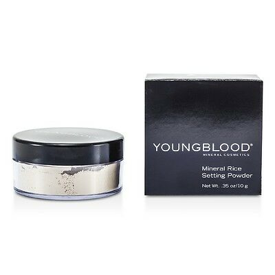 Youngblood Mineral Rice Setting Loose Powder - Light 10g Womens Make Up
