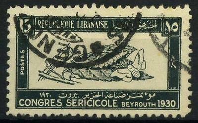 16-05-00032 - Lebanon 1930 Yv.  126 US 80% Grand Liban Congress Beirut