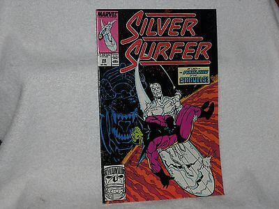 Marvel Comics The Silver Surfer Vol. 3 #28  1989