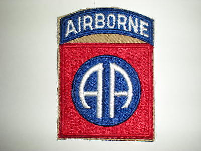 Us Army Wwii 82Nd Airborne Division Unit Patch (Reproduction)