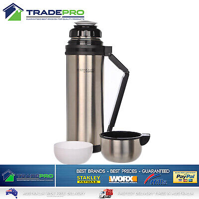 THERMOS® Flask Stainless Steel 1.8L Vacuum Insulated Bottle Drink Food 1.8 Litre