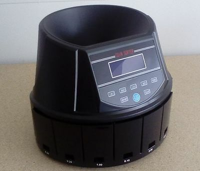 COIN COUNTER sorter  AUS960 H/duty  12 month WARRANTY 320 coins per min !!